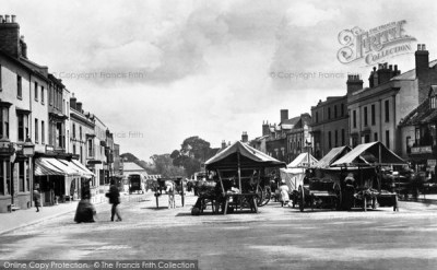 Stratford Upon Avon, Market Place 1892 - Francis Frith