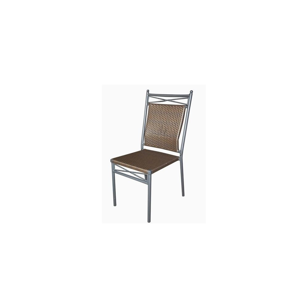 Lot De 6 Chaises Marron Chaise Touraine Couleur Marron Glacé Lot De 6