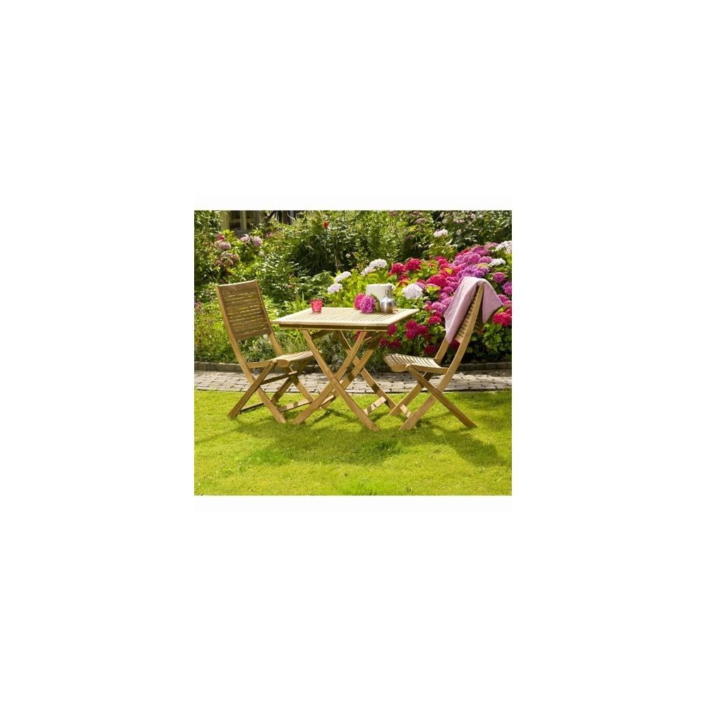 Salon De Jardin Bois Remmington 1 Table 190-230cm + 4 Chaises + 2 Fauteuils Awesome Table Jardin Teck Fsc Gallery House Design