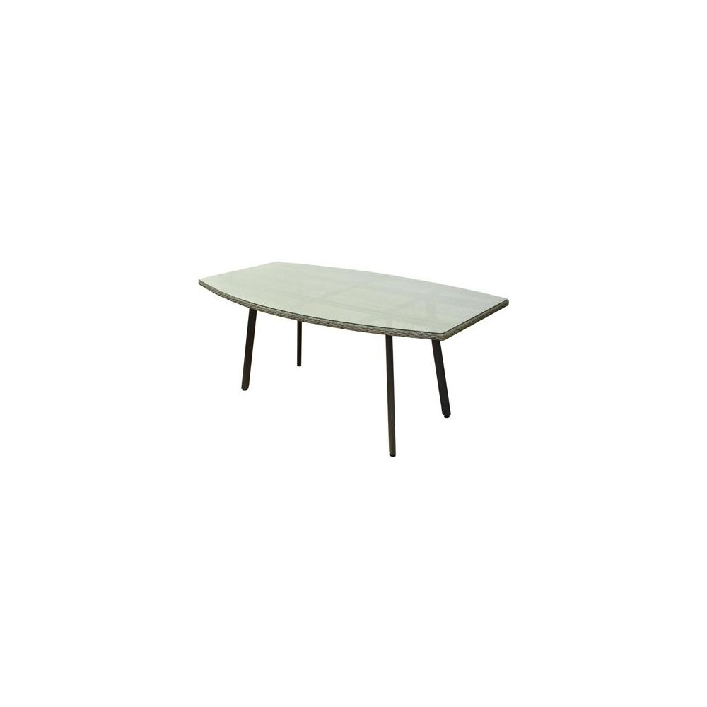 Table Pour 6 Table Oblongue Soleo 180 X 100 70 Cm Pour 6 8 Personnes Ice