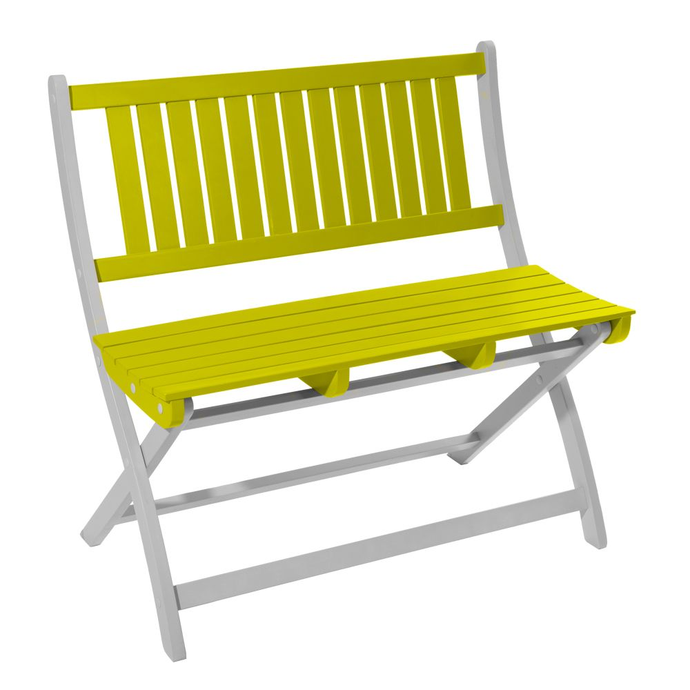 Banc Et Table De Jardin Salon De Jardin Burano City Green Table 2 Chaises 1 Banc
