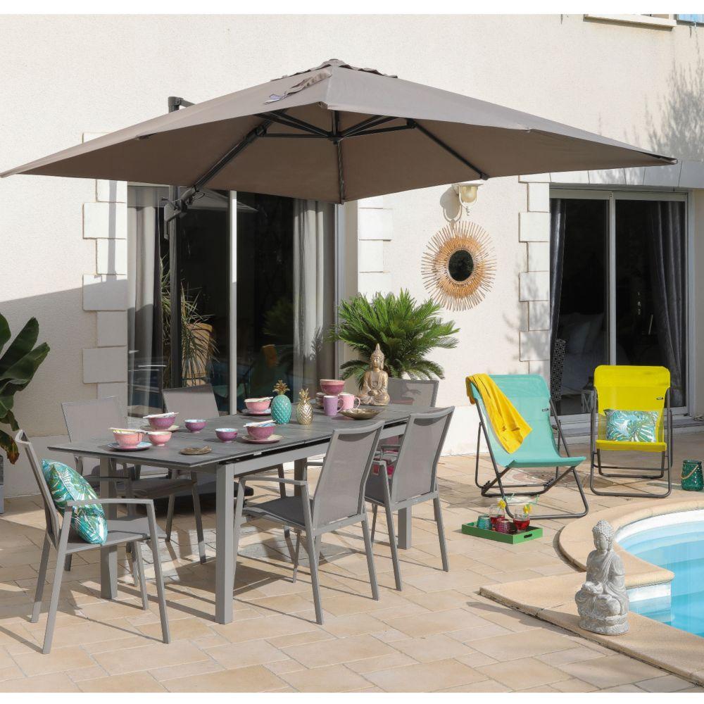 Table Et Fauteuils De Jardin | Stunning Salon De Jardin Table ...