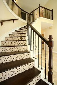 Wood Stairs With Tile Risers | Euffslemani.com