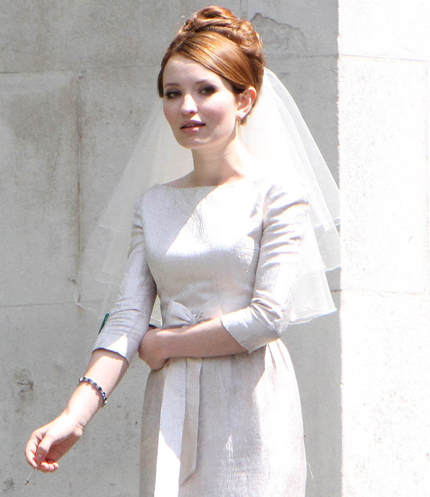 Audi Light Tom Hardy And Emily Browning Shoot Wedding Scene On The