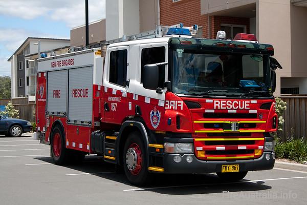 FRNSW Rescue Pump 57 WentworthvilleDecember 2008