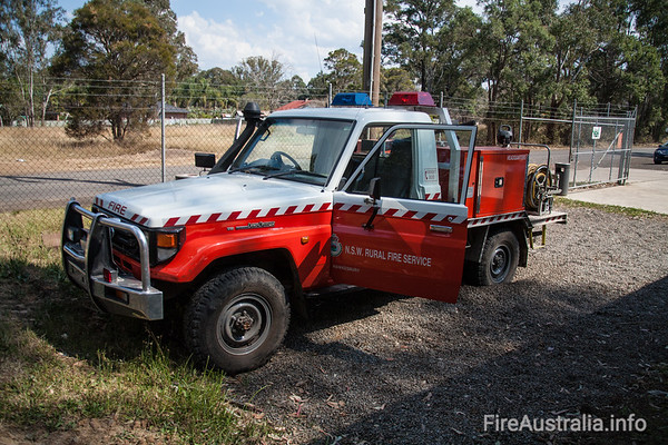 NSWRFS Hawkesbury HQ Cat 9 Tanker.Kuipers Engineering Jul/04 Build