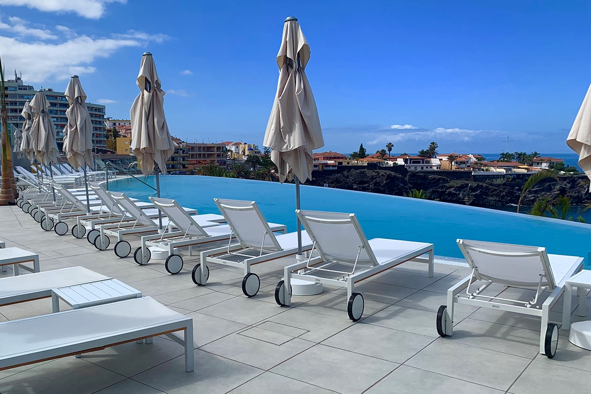 Chaise Suspendue Club Piscine Club Lookéa Playa La Arena Vols Charters