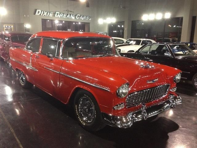 1955 Used Chevrolet Bel Air 2 Door Sedan at DIXIE DREAM CARS Serving