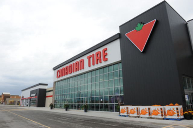 Canadian Stores Canadian Tire Unveils New Benchmark For The Automotive