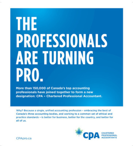 Chartered Accountant Cpa Chartered Professional Accountants Launch National Advertising