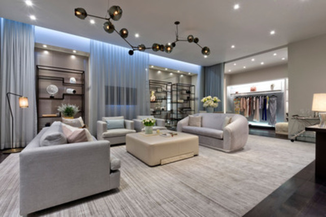 Modern Furniture Stores Calgary Holt Renfrew Celebrates A New Era Of Luxury For Holt