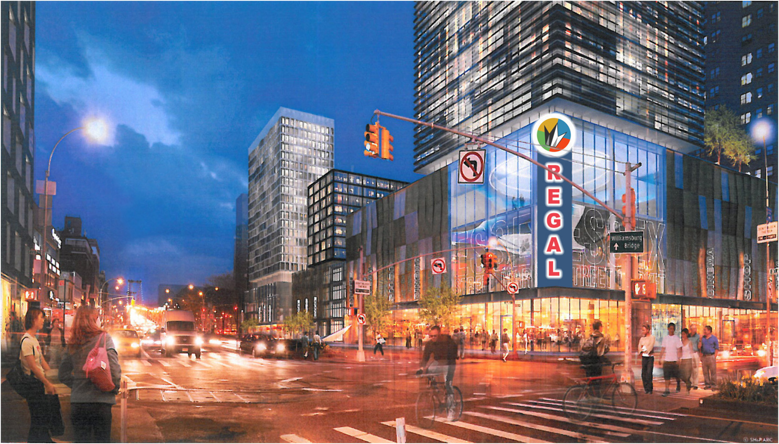 Regal Multiplex Seven New Nyc Movie Theaters To Open In 2019