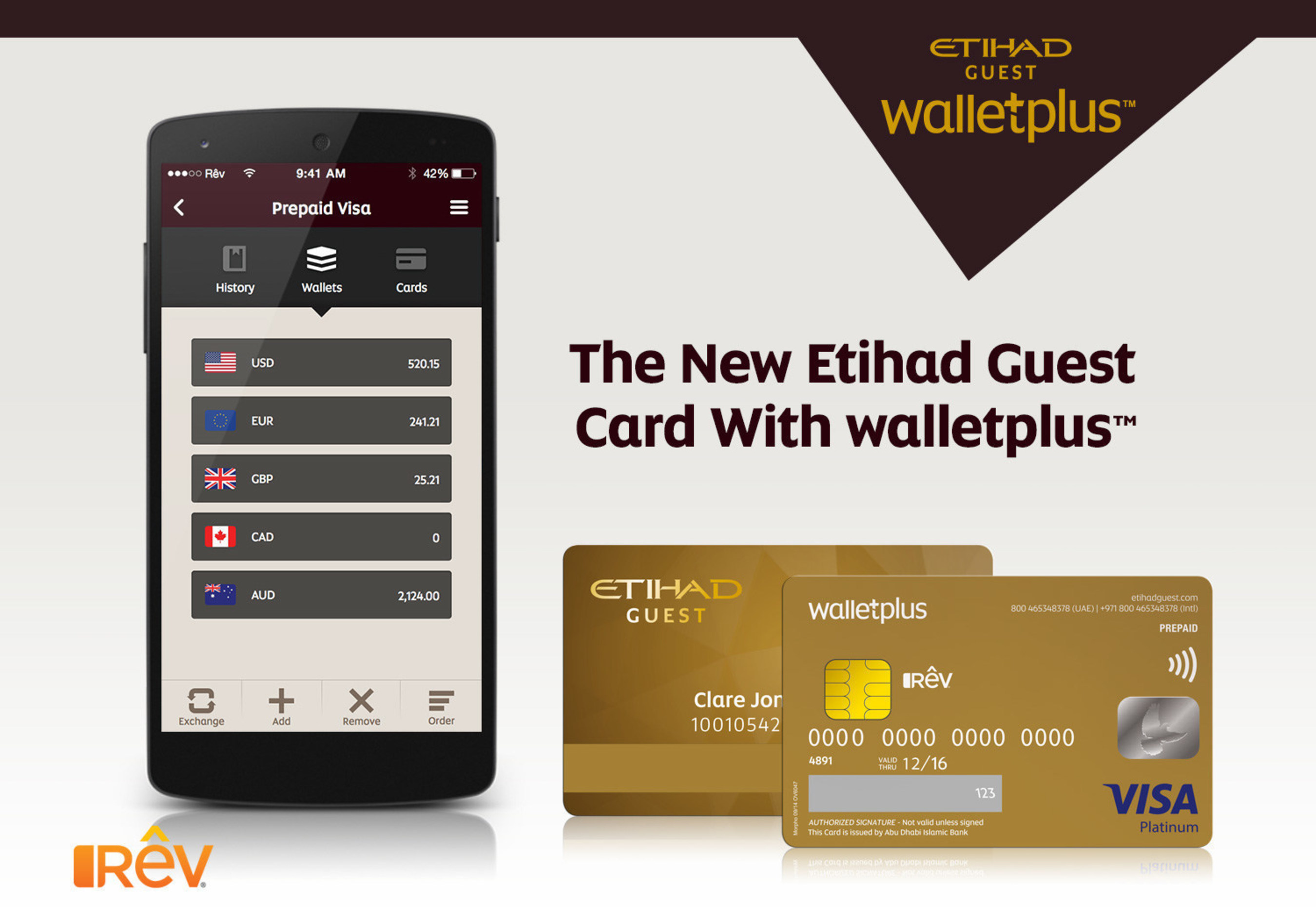 Etihad Guest Rev Partners With Etihad Guest Adib To Launch Walletplus The