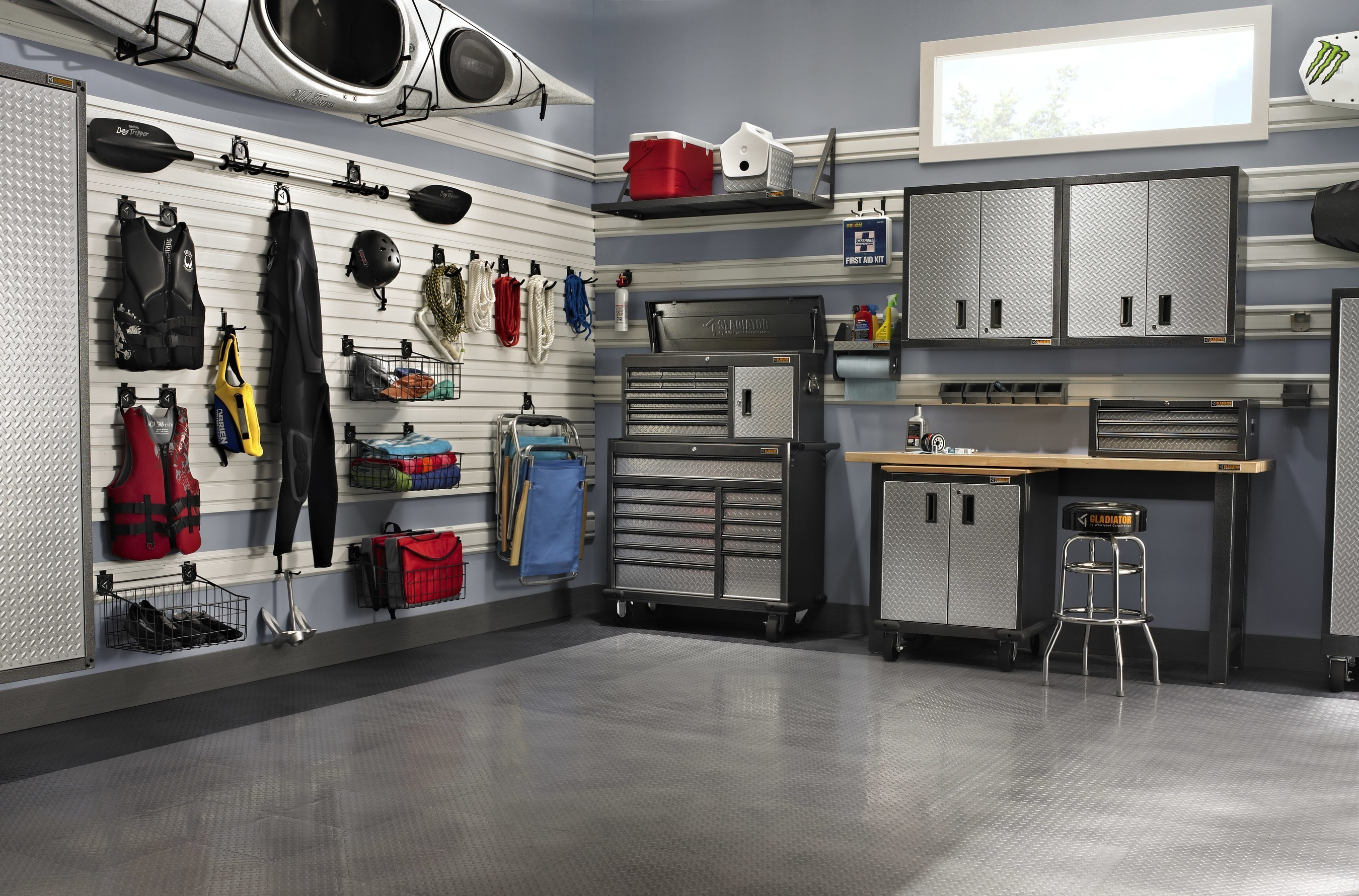 Gladiator Garage Wall Accessories Almost 1 In 4 Americans Say Their Garage Is Too Cluttered To Fit