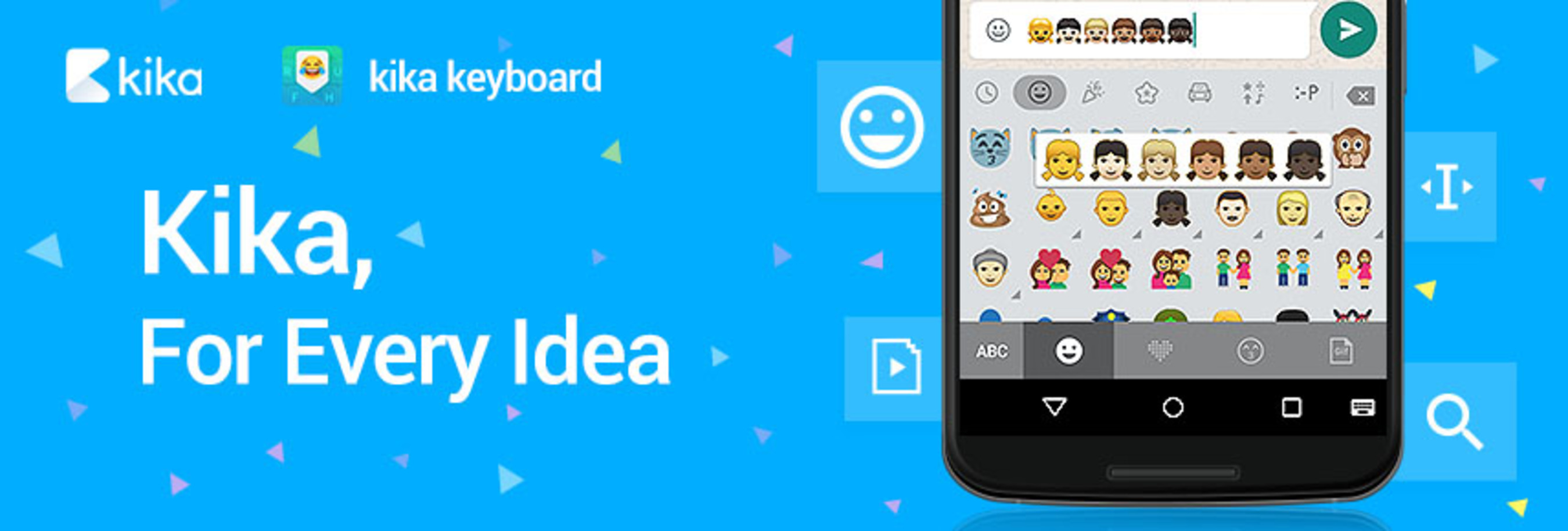 Kika Com Kika Keyboard Becomes The 1st Keyboard With Native Support For