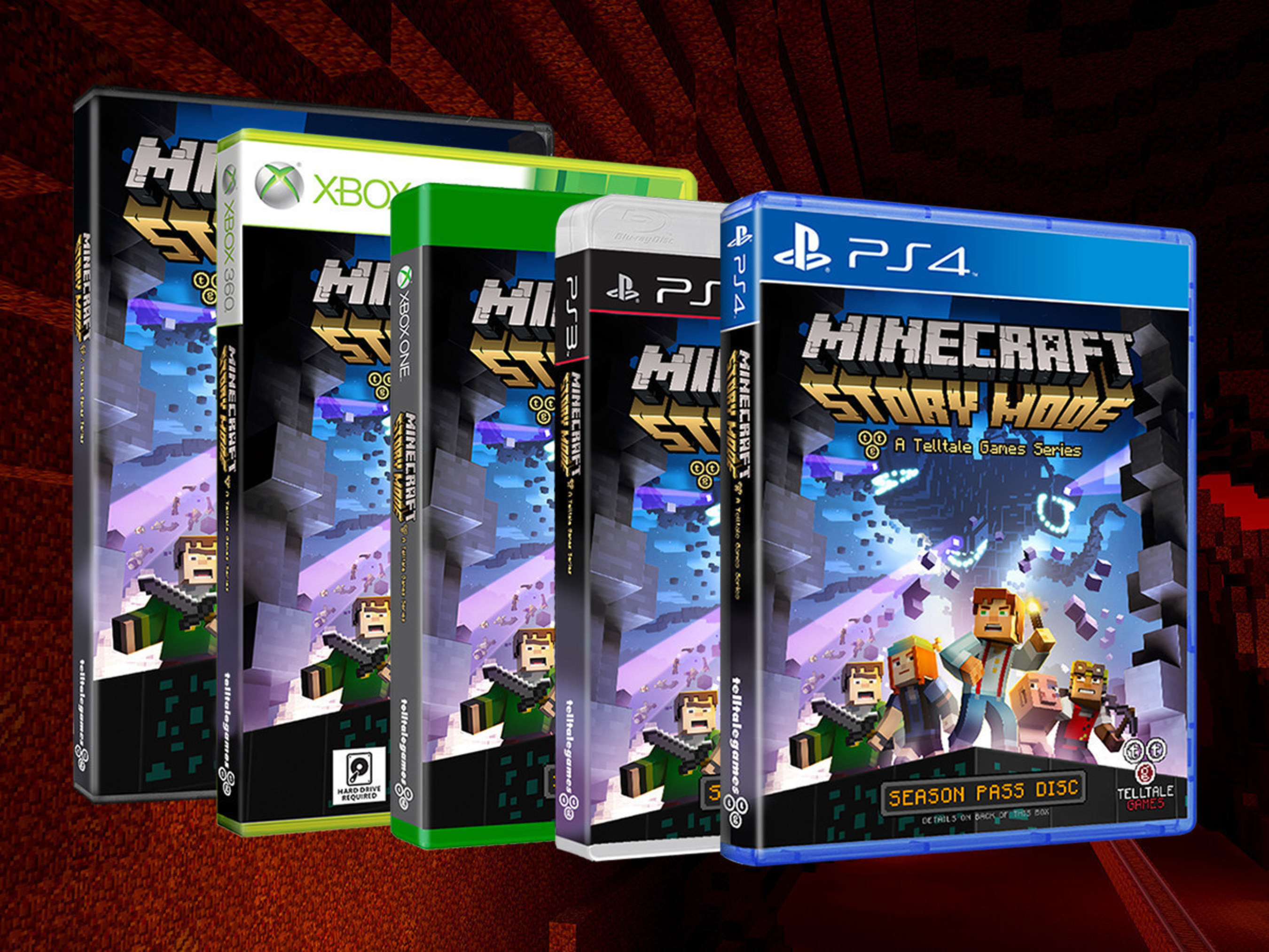 Tiendas Games Minecraft Story Mode A Telltale Games Series