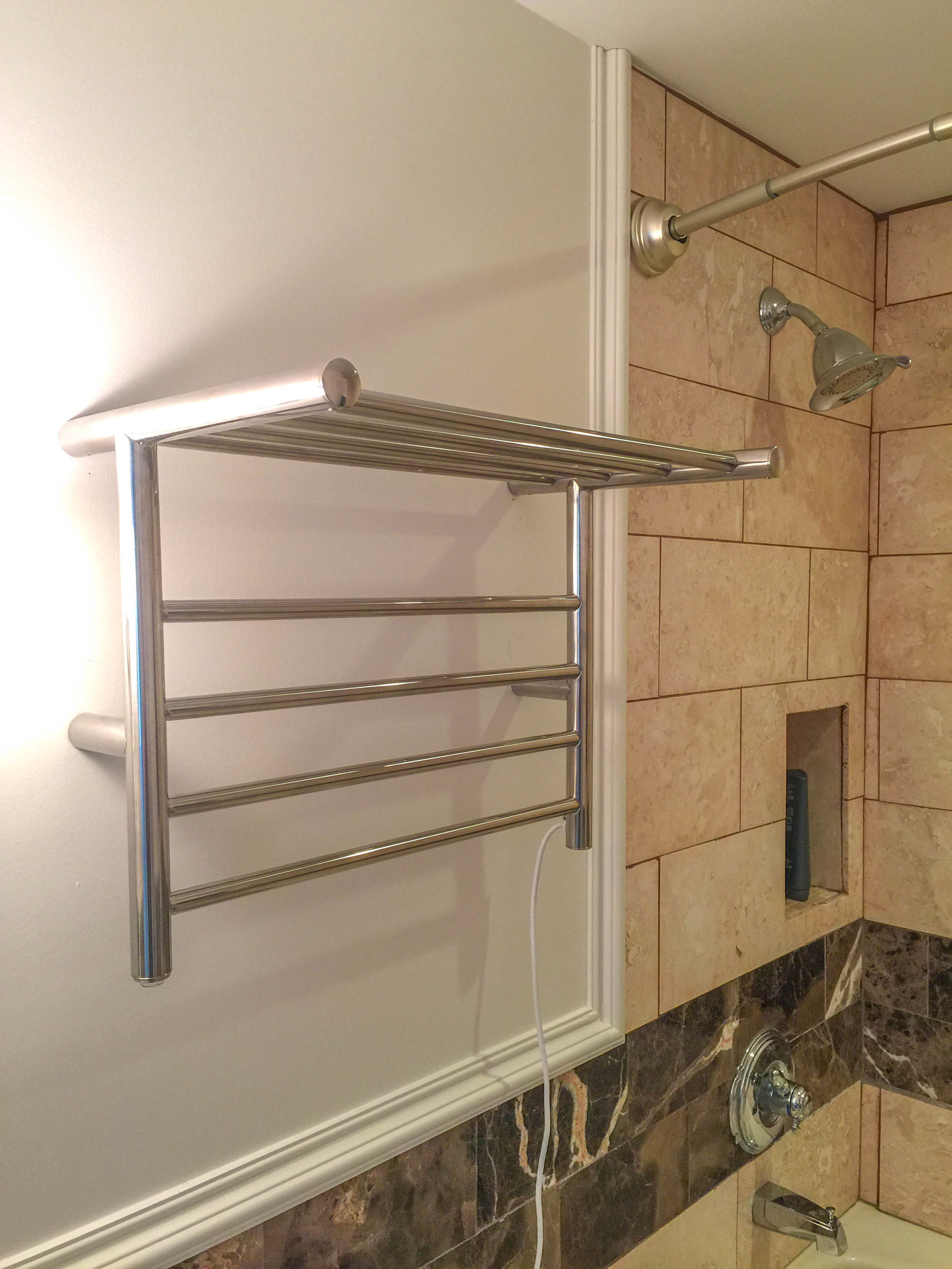 Hotel Collection Towel Bar Luxury Heated Towel Racks Set To Warm Things Up In Hotel