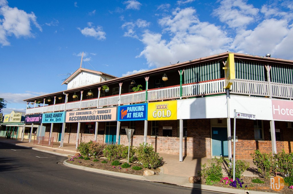 Cunnamulla downtown