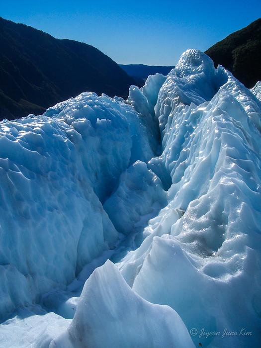 Franz Josef glacier up close