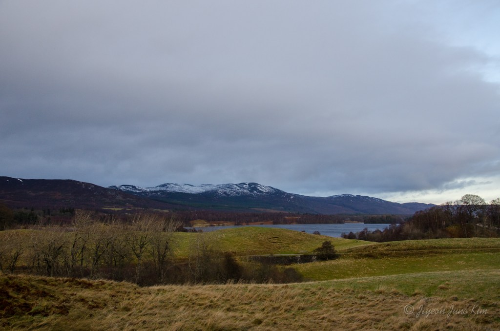Scottish Highlands landscape