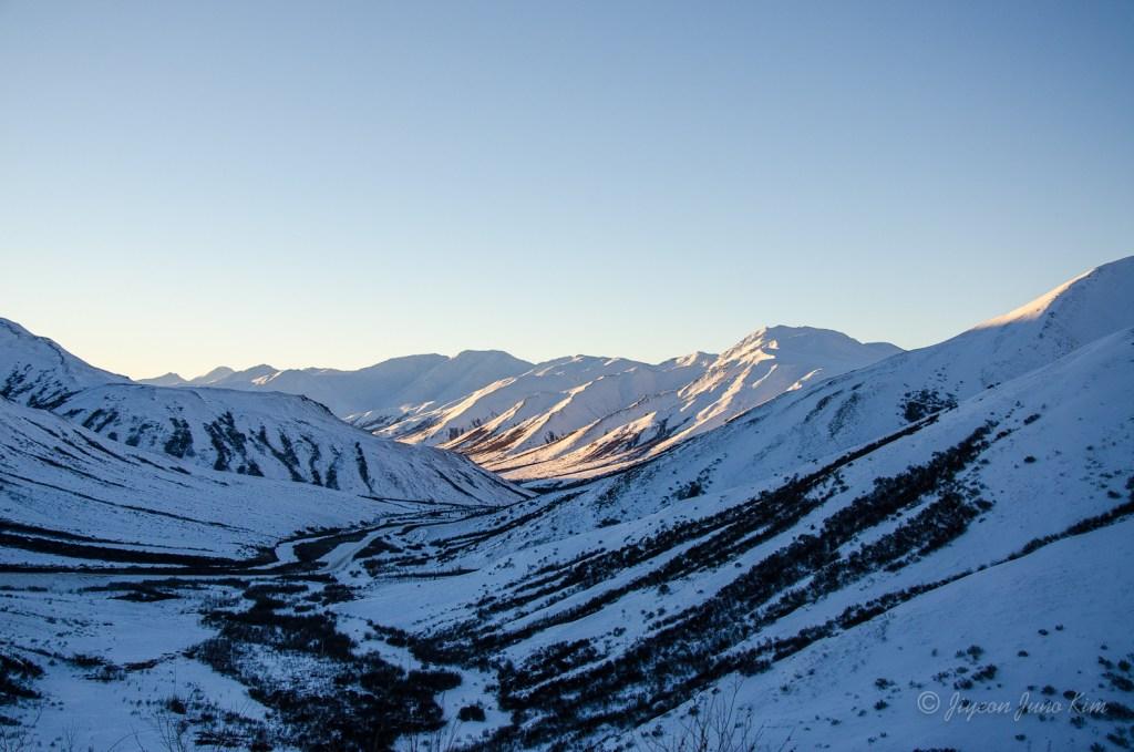 The view of Brooks Range from Atigun Pass
