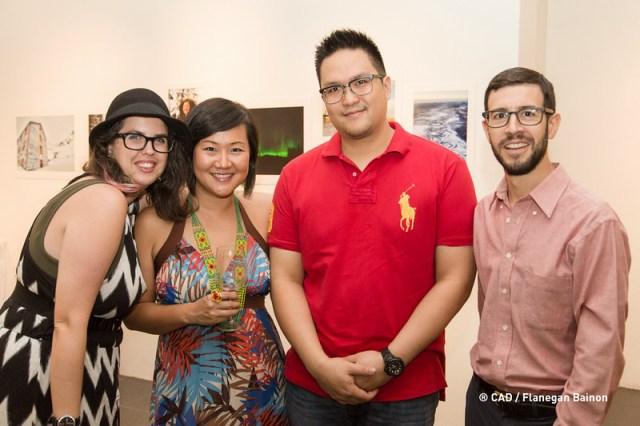 at a wine tasting event @ CAD Centre for Arts & Design