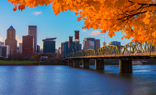Portland Or Fall Had Wallpaper Skyline Exhibits Portland Amp Boise Trade Show Events