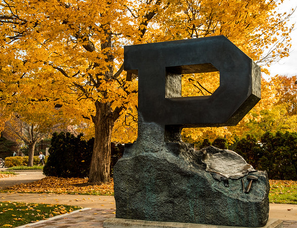 Fall Comes To The Campus Of Purdue University Part II \u2013 Dave Wegiel
