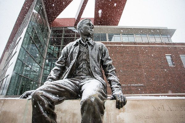 More Snow on the Campus of Purdue University \u2013 Dave Wegiel Photography
