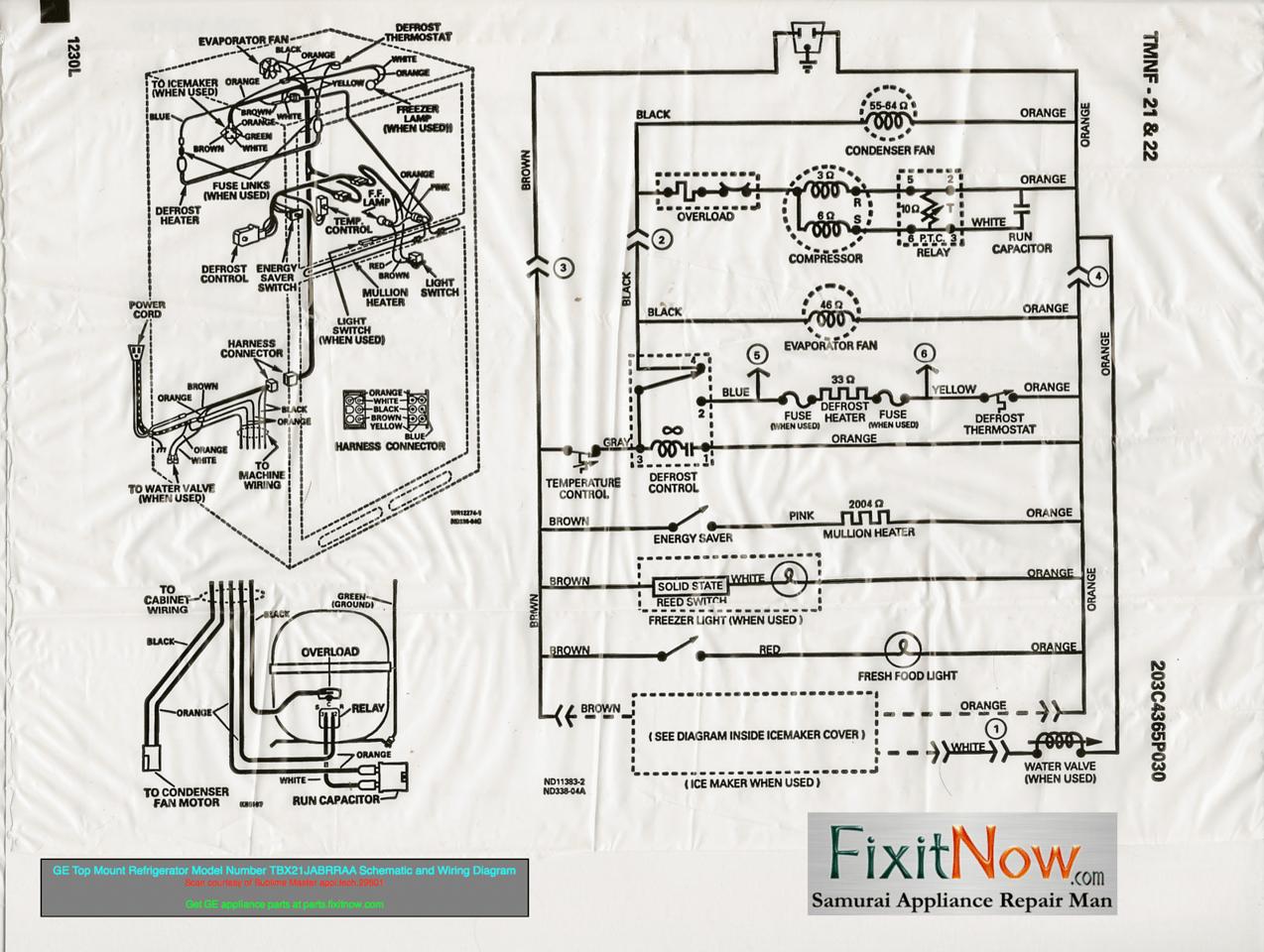 Washer Motor Wiring Diagram Ge