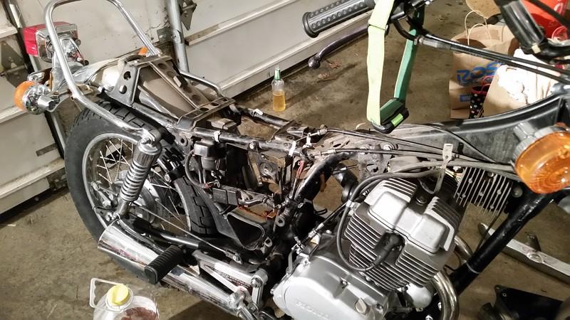 The FREE 1982 Honda CM250 Custom Thread Adventure Rider
