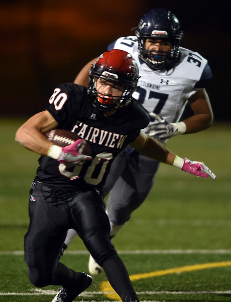 Football Fairview can\u0027t slow down Columbine - BoCoPreps Boulder - Columbine High School Football