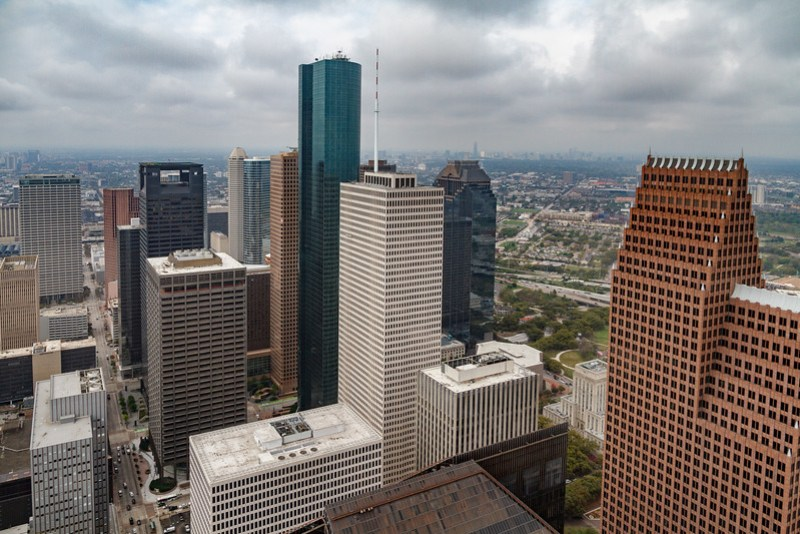 Houston from Above, by Tim Stanley