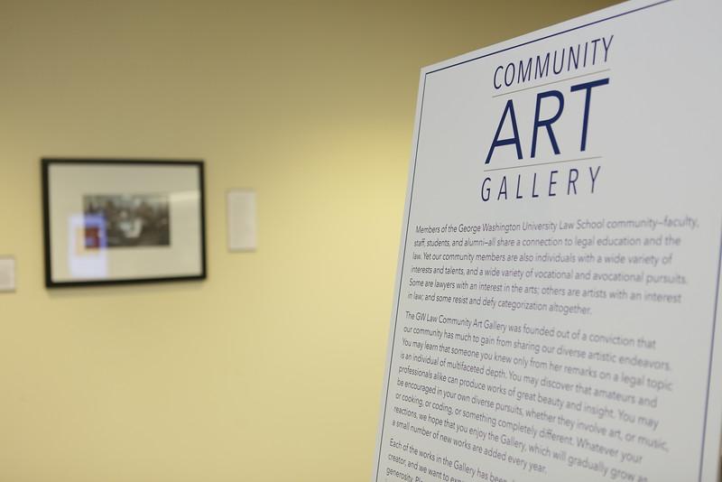 GW Law Community Art Gallery Grand Opening - gwlaw