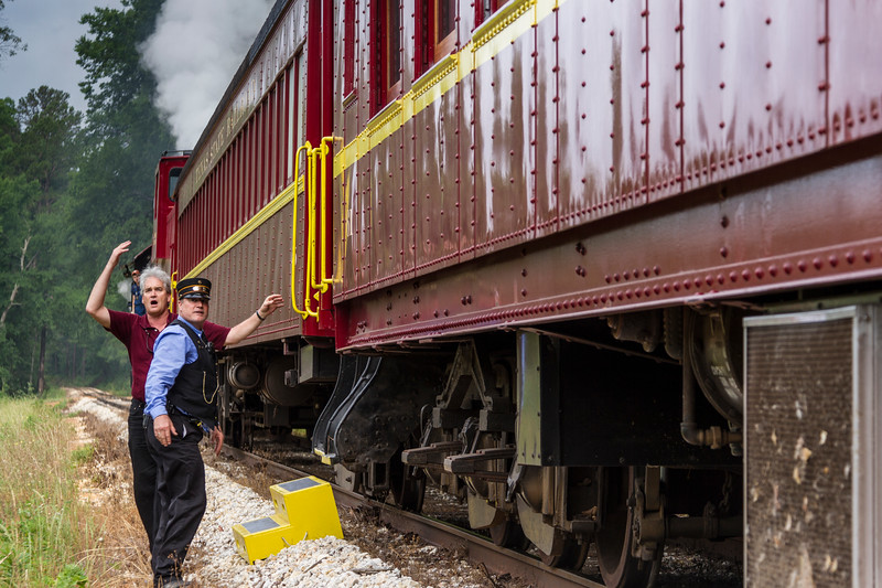 Trains in Texas - jnbraud - frieght conductor