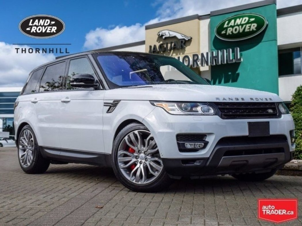 Landrover Range 2016 Land Rover Range Rover Sport For Sale In Thornhill