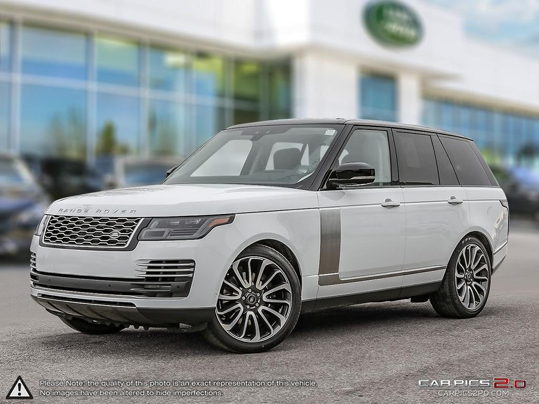 Landrover Range 2019 Land Rover Range Rover For Sale In Winnipeg