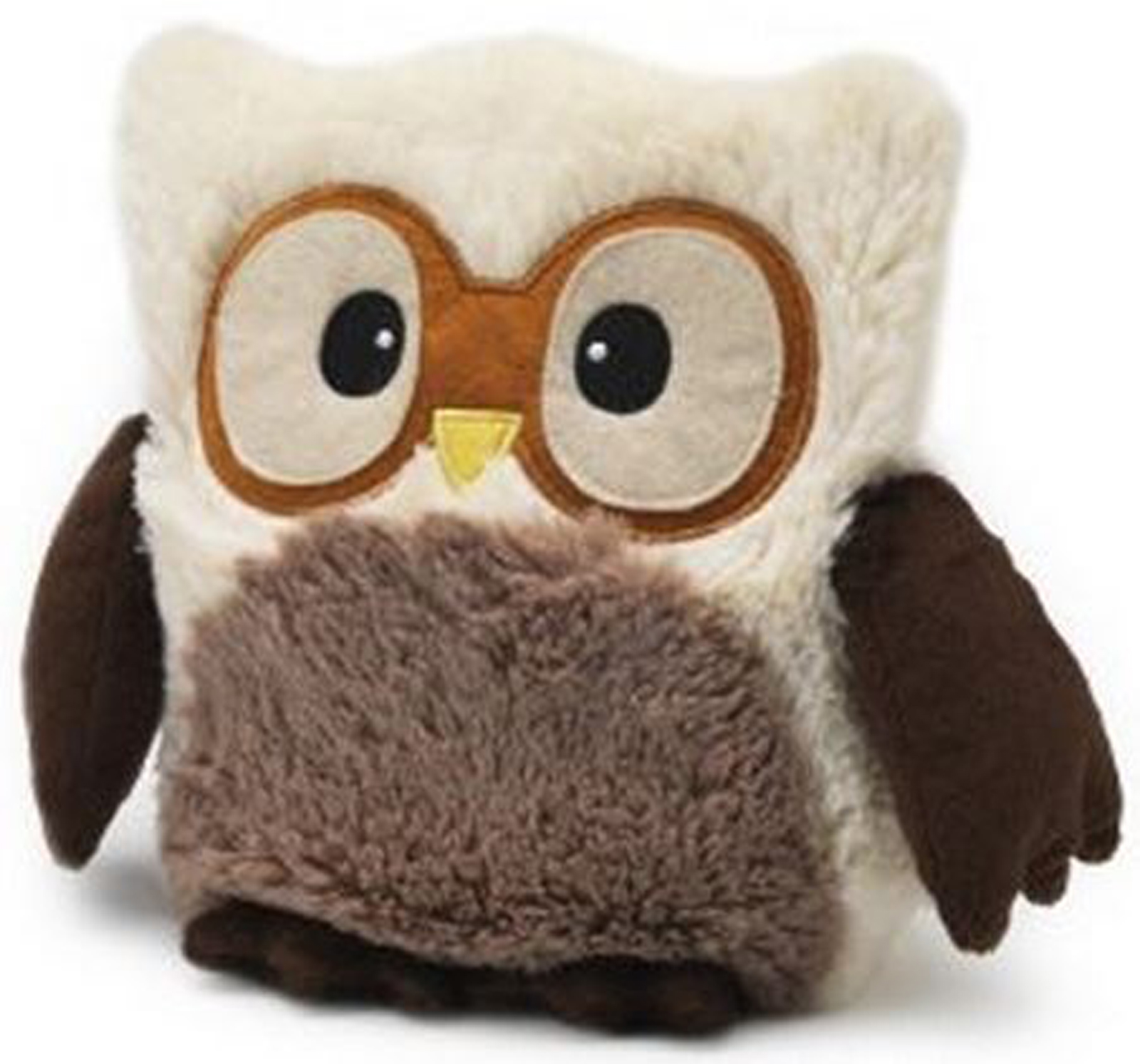 Stuff Owl Intelex Cream Owl Hooty Microwavable Cozy Plush Stuffed