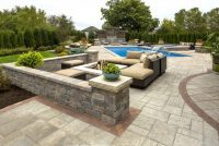 Pool Deck and Patio built with Beacon Hill Flagstone Paver ...