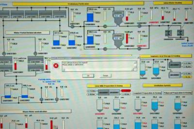 bushehr plant computer screen