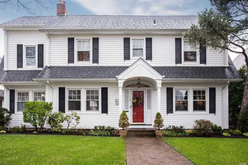 Large Of Center Hall Colonial