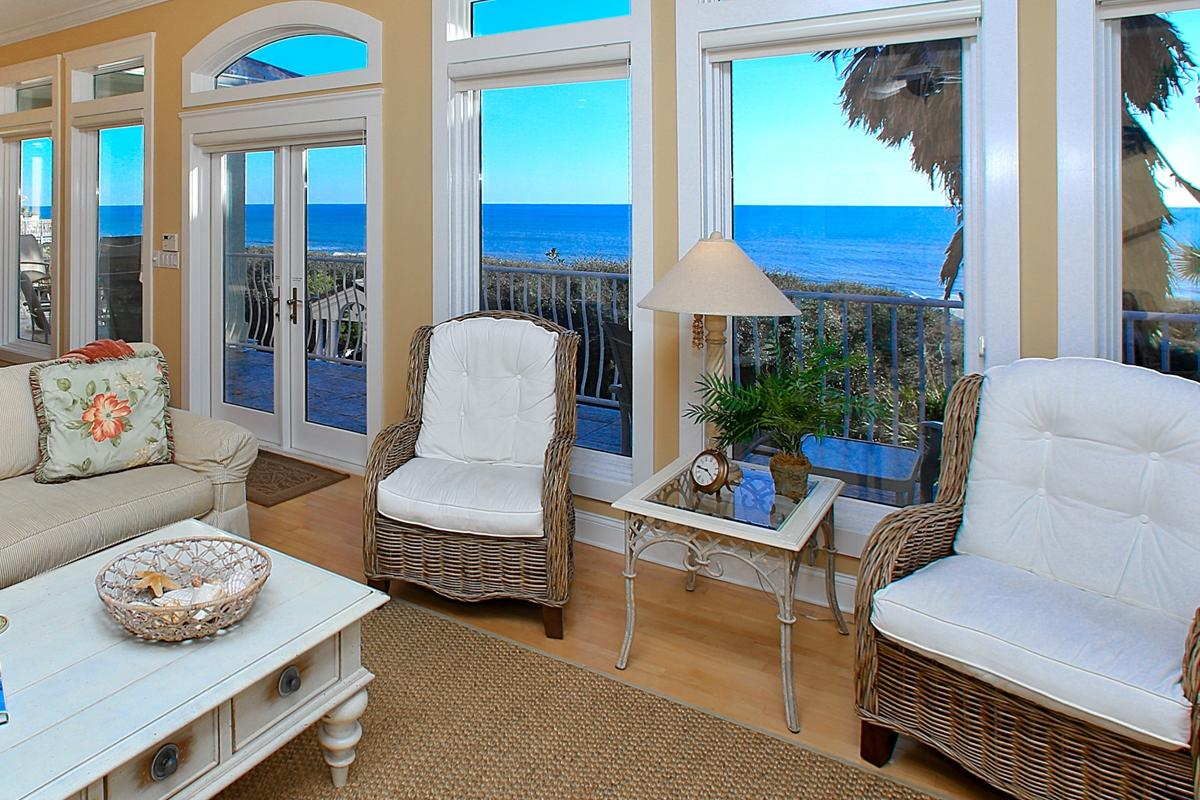 Big Sofa San Juan White Dunes 30a Luxury Vacation Rentals