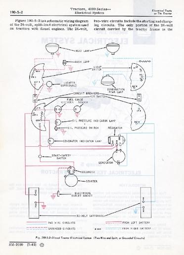 4020 lights wiring diagram