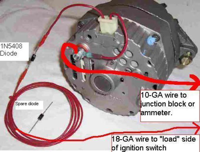 Delco Remy 10si Alternator Wiring - Wiring Solutions