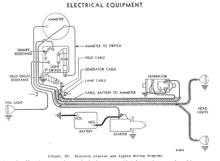 light wiring diagram ih 504