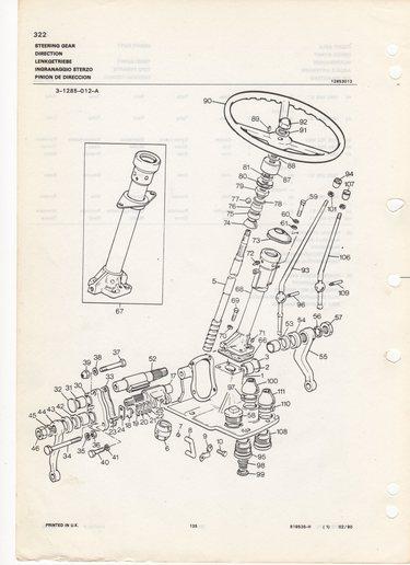 1969 Massey Ferguson Steering - Yesterday\u0027s Tractors (143439)