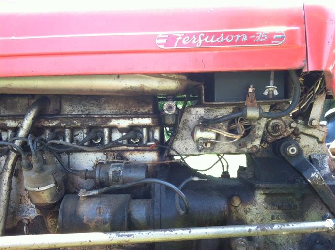 TO-35 solenoid grounding - Yesterday\u0027s Tractors