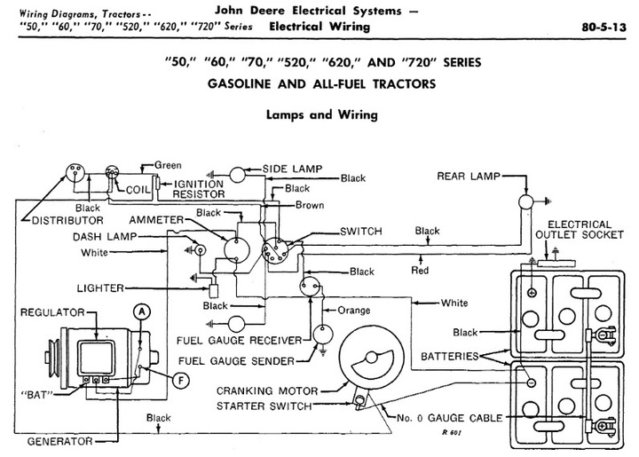 John Deere 50 Wiring Harness Wiring Diagram