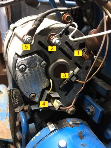 Ford 4630 Charging Question - Yesterday\u0027s Tractors
