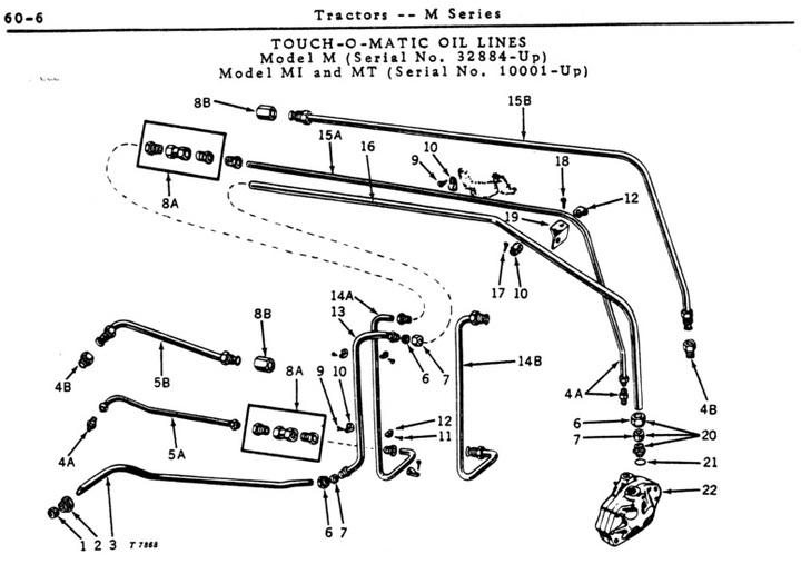 john deere 1010 tractor coil wiring diagram